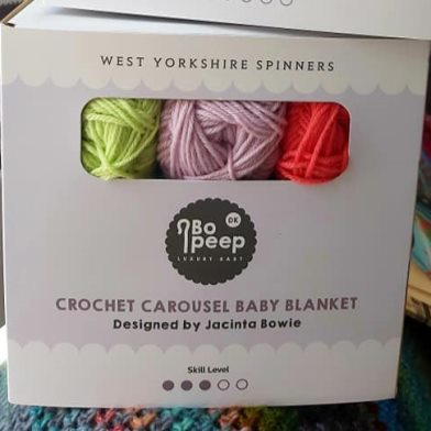 West Yorkshire Spinners Crochet Baby Blanket Kit