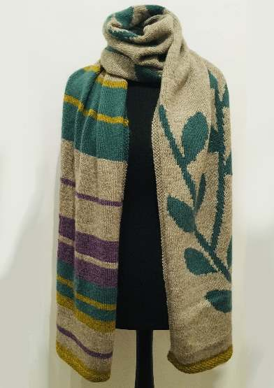 Dee Hardwicke - Rowan Night Garden Fields Wrap Mash-up Exclusive from  The Wool Croft