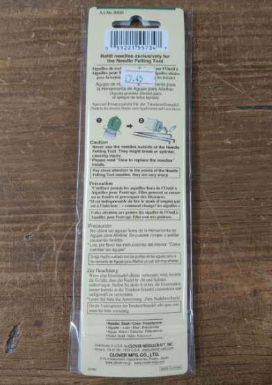 Clover 5-Pack Needle Felting Tool Refills