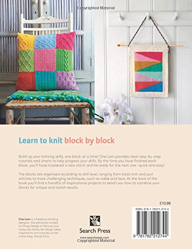 Learn To Knit Block By Block