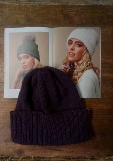 Beckett Beanie Hat Knitting Kit