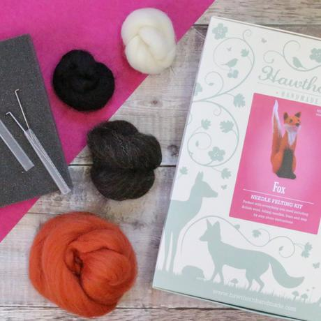 Fox Needle Felting Kit