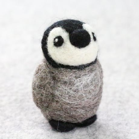Baby Penguin Mini Needle Felting Kit