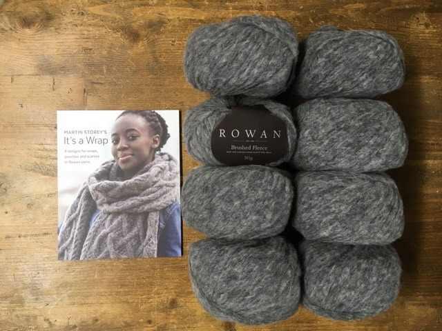 It's A Wrap - Brushed Fleece Chunky Knitting Kit