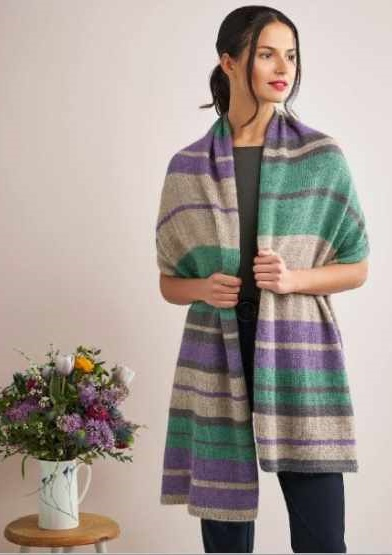 Dee Hardwicke Fields Wrap Knitting Kit