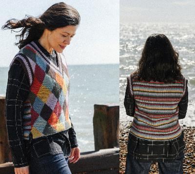 Pebble Island Knitting Pattern Book by Erika Knight