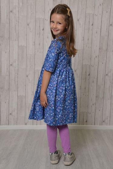 Amelie Children's Dress Sewing Pattern - by Emporia