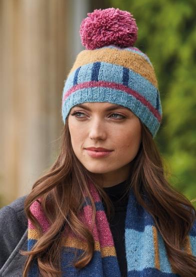 Dee Hardwicke – Winter Field Knitted Hat Kit