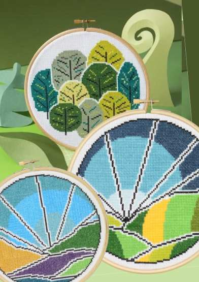 Hawthorn Cross Stitch Kits
