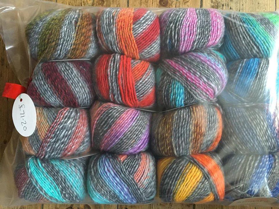 Zebrino Blanket Kit - Knitted