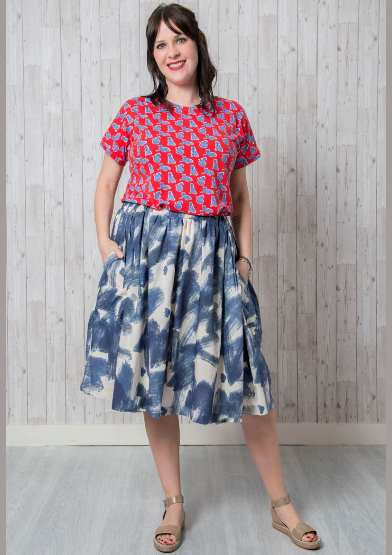 Astrid Dress and Top Sewing Pattern - By Emporia