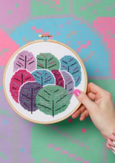 Spring Trees - Hoop Cross Stitch Kit