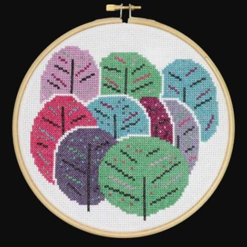 Spring Trees - Hoop Cross Stitch Kit