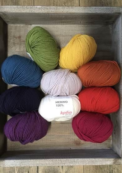 Rainbow Blanket 500g Yarn Pack