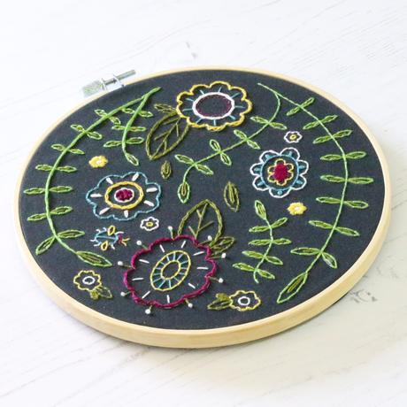 Hawthorn  Hoop Embroidery Kits