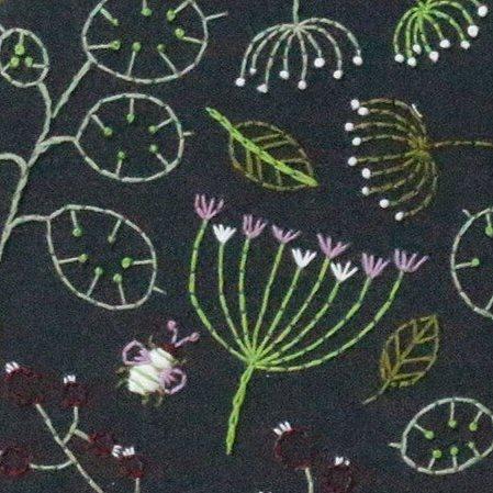Hawthorn  Hoop Embroidery Kits