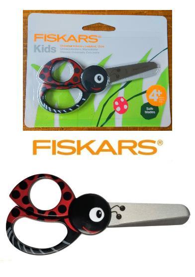 Fiskars Kids Ladybird Scissors 13cm