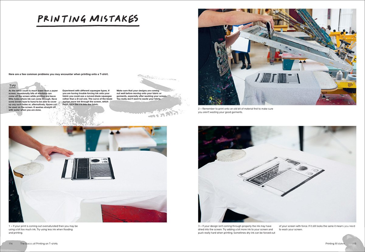 Screen Printing: The ultimate Studio Guide from Sketchbook to the Squeegee by Print Club London