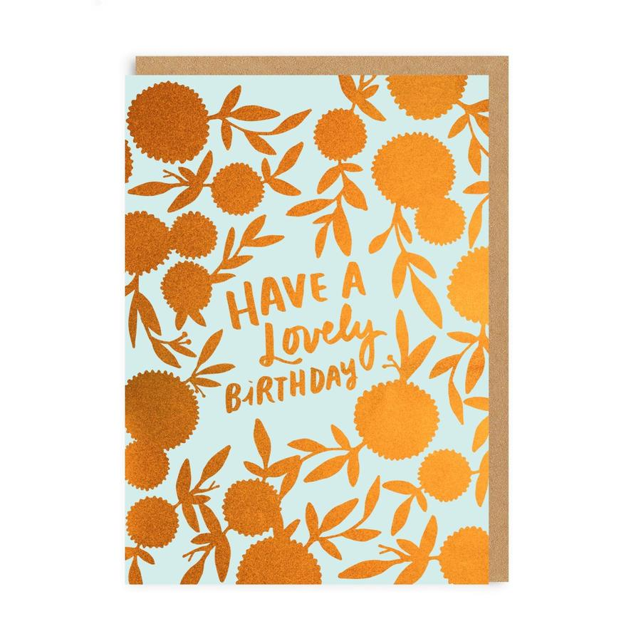 Lovely Birthday Greeting Card