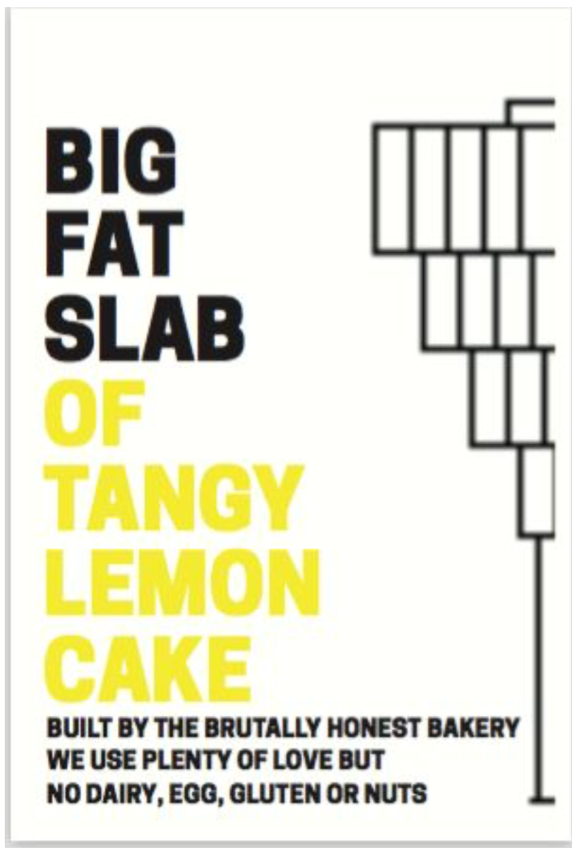 BOX OF CAKE - Tangy Lemon Cake
