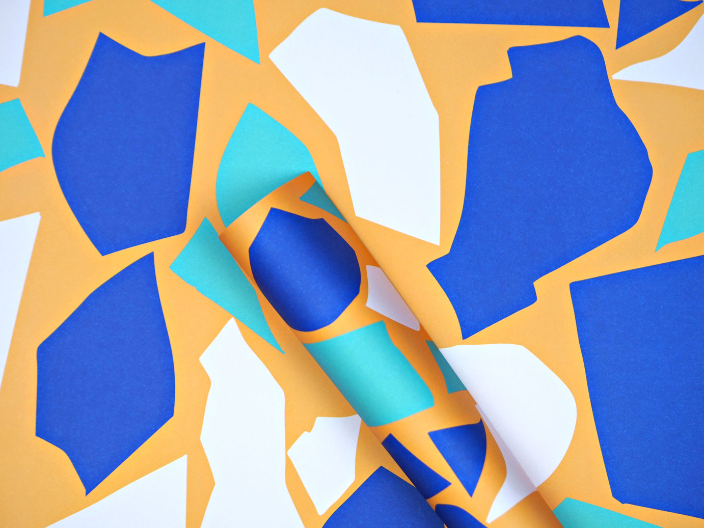 Mini Cut Out Shapes Gift Wrap