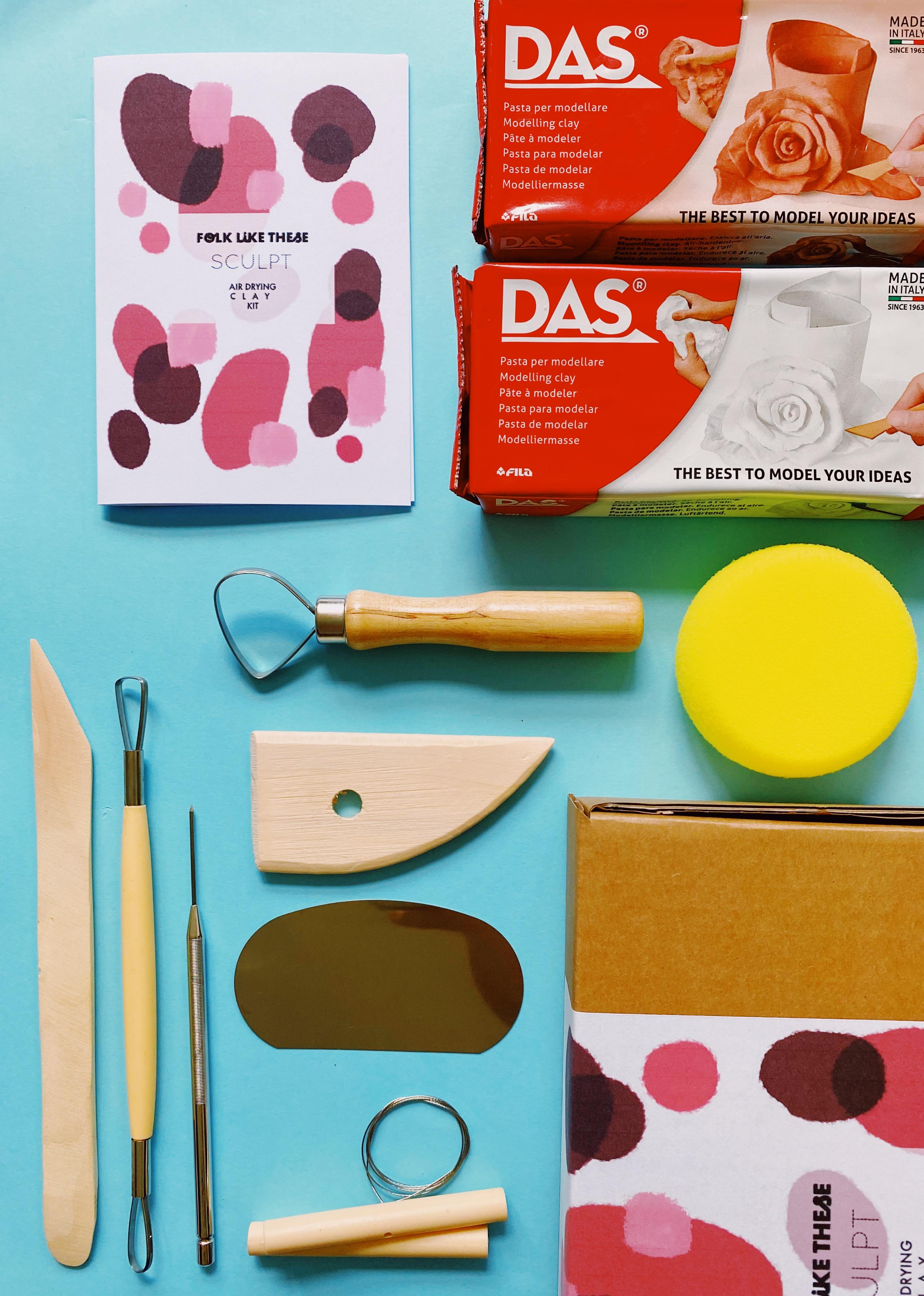 Air Drying Clay Kit