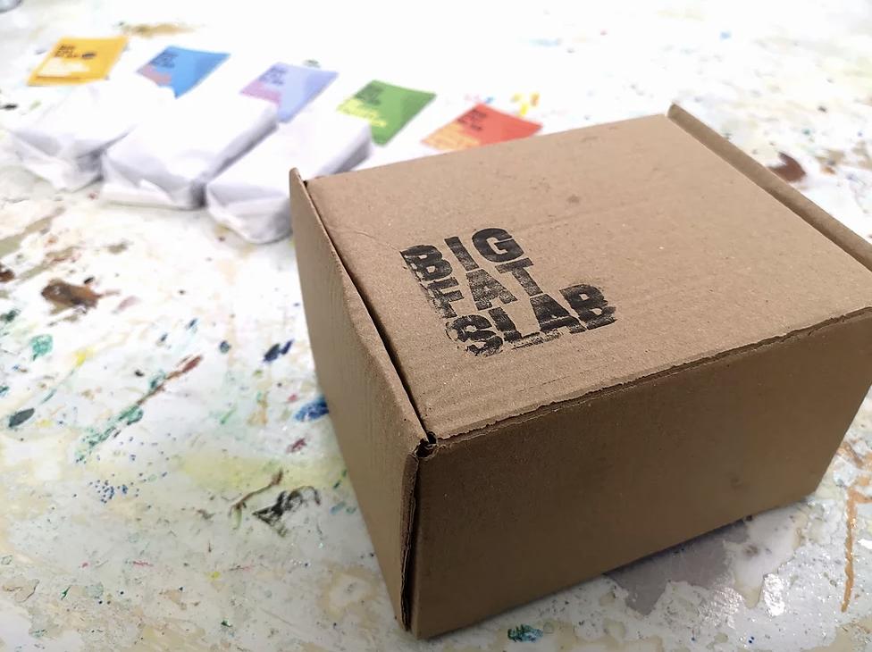 BOX OF CAKE - Fruity Flapjack