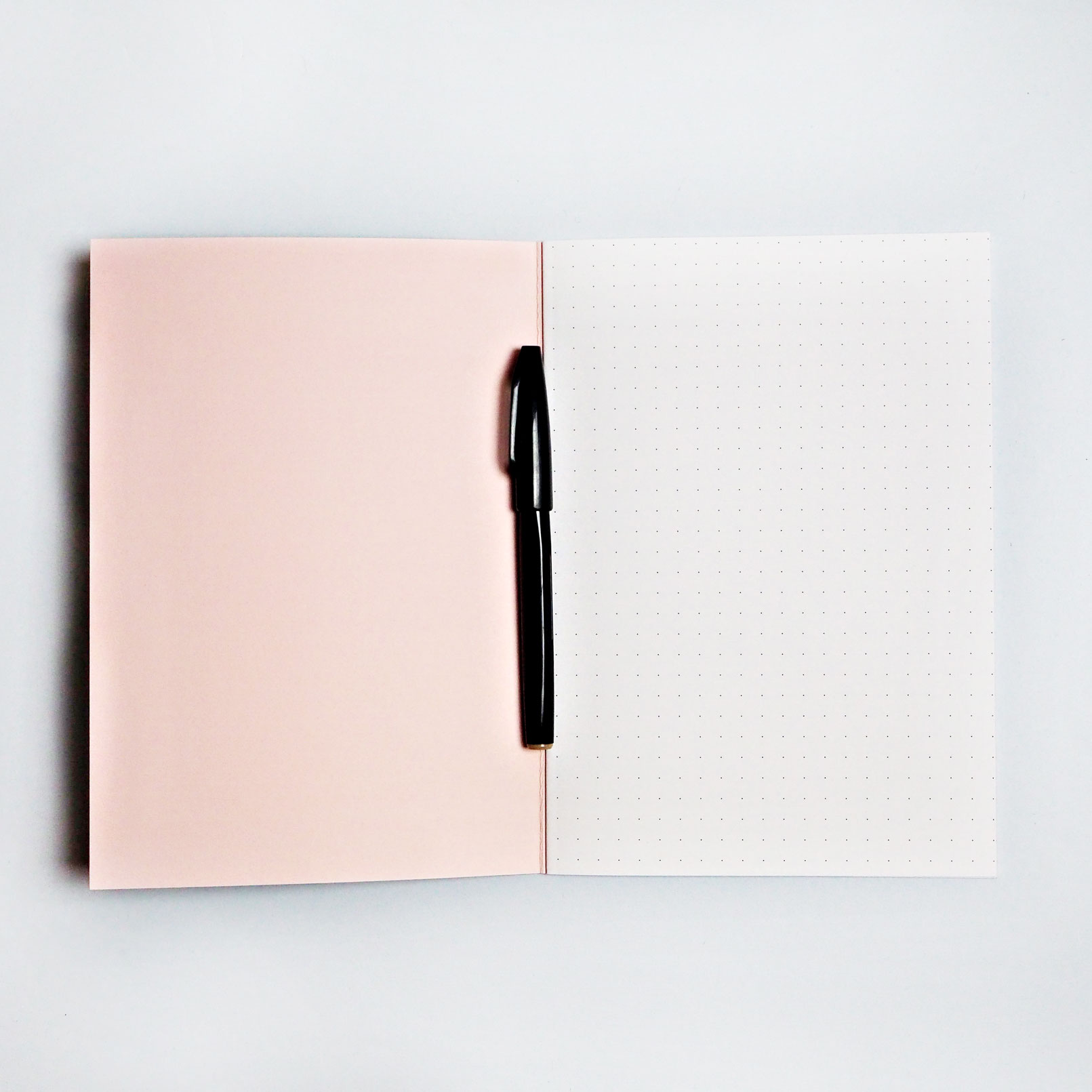 Green Shadow Brush Notebook