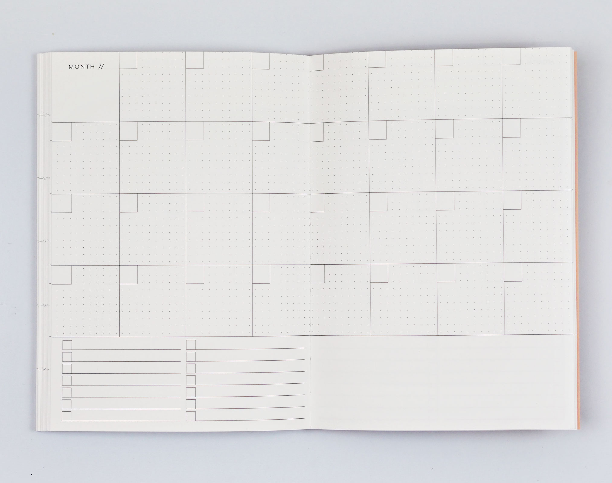 Giant Brush No.2 Weekly Planner Book