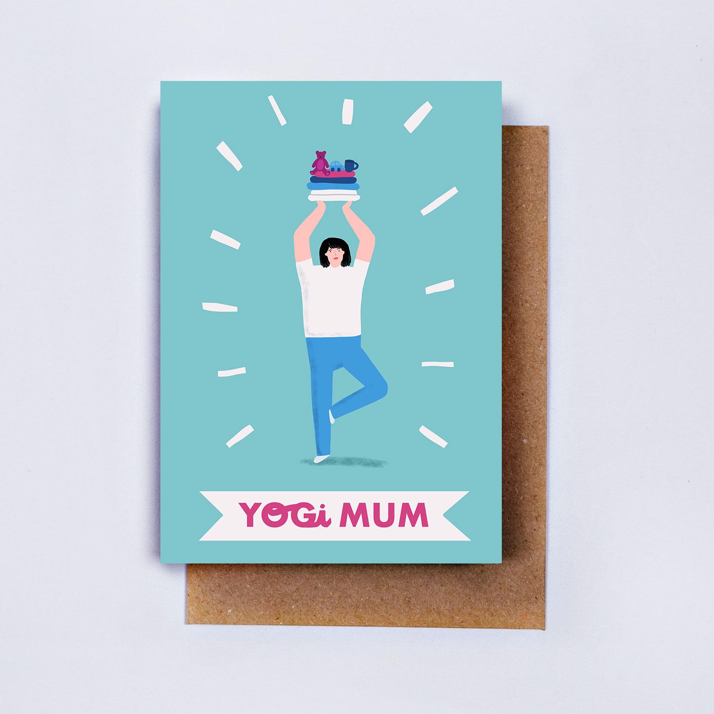 Yogi Mama Card