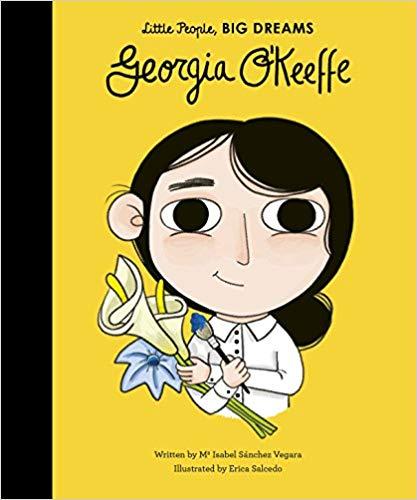 Georgia O'Keeffe Little People BIG DREAMS book