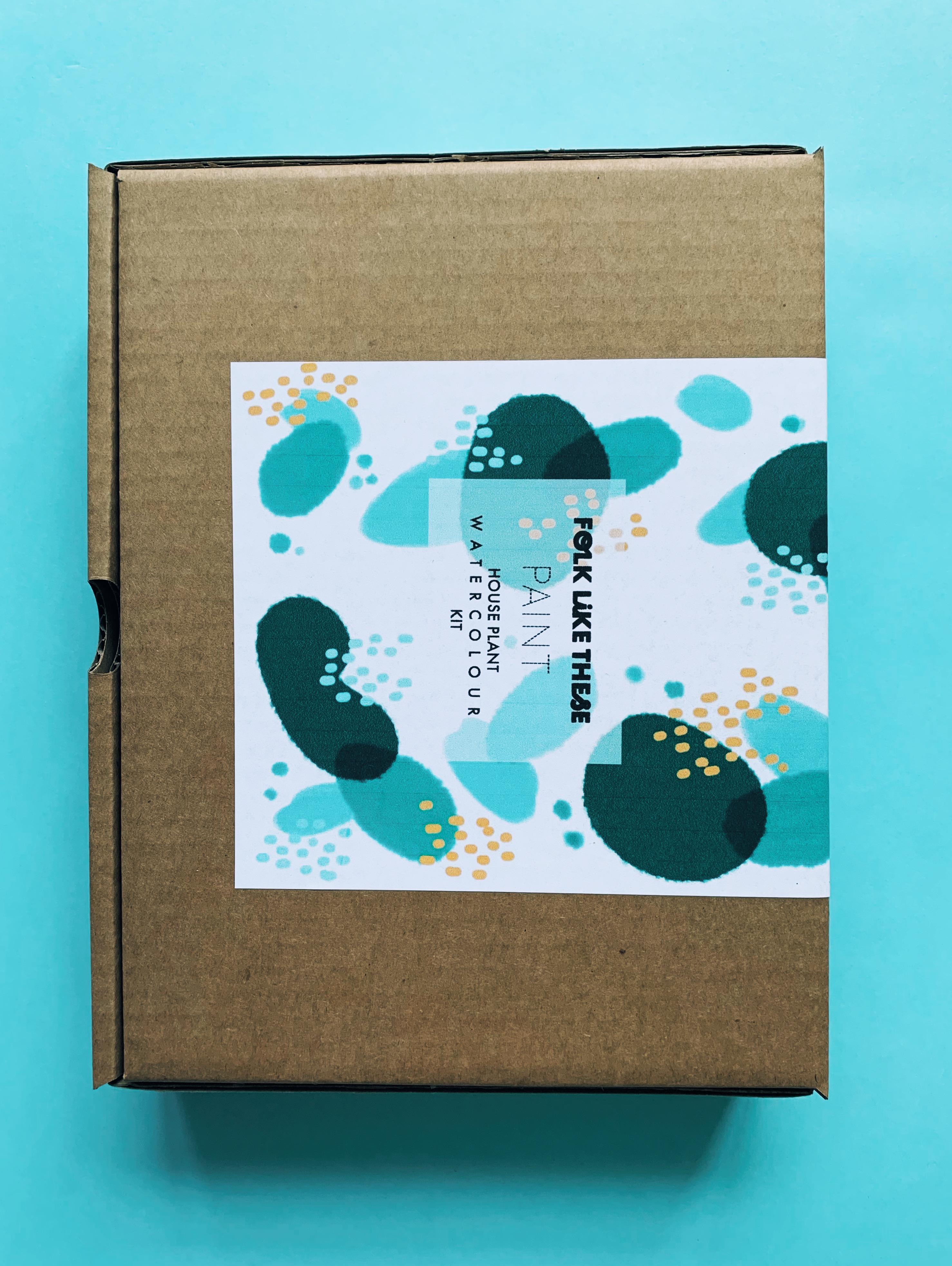 Houseplant Watercolour Kit
