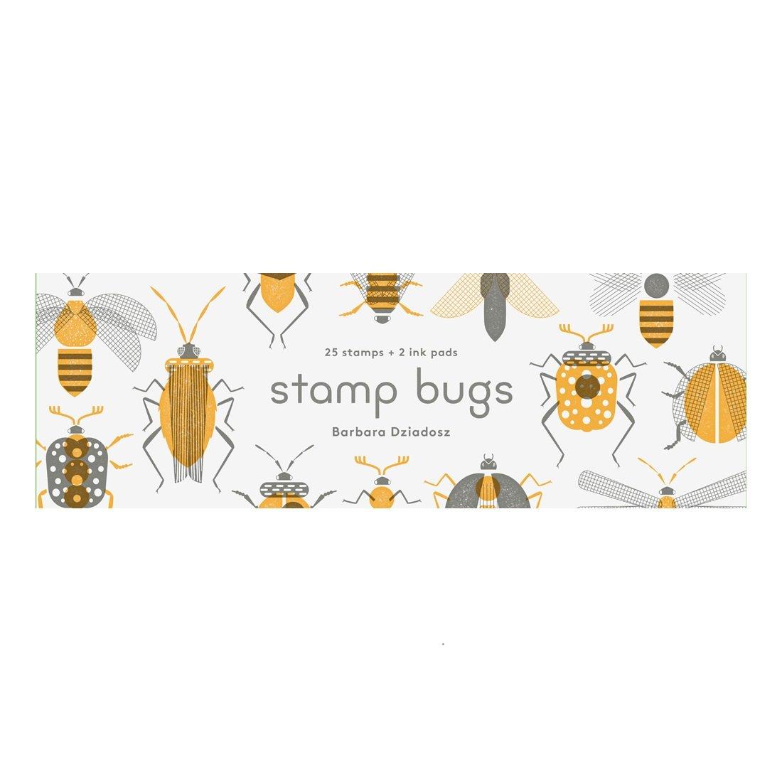 Stamp Bugs Rubber Stamp Set