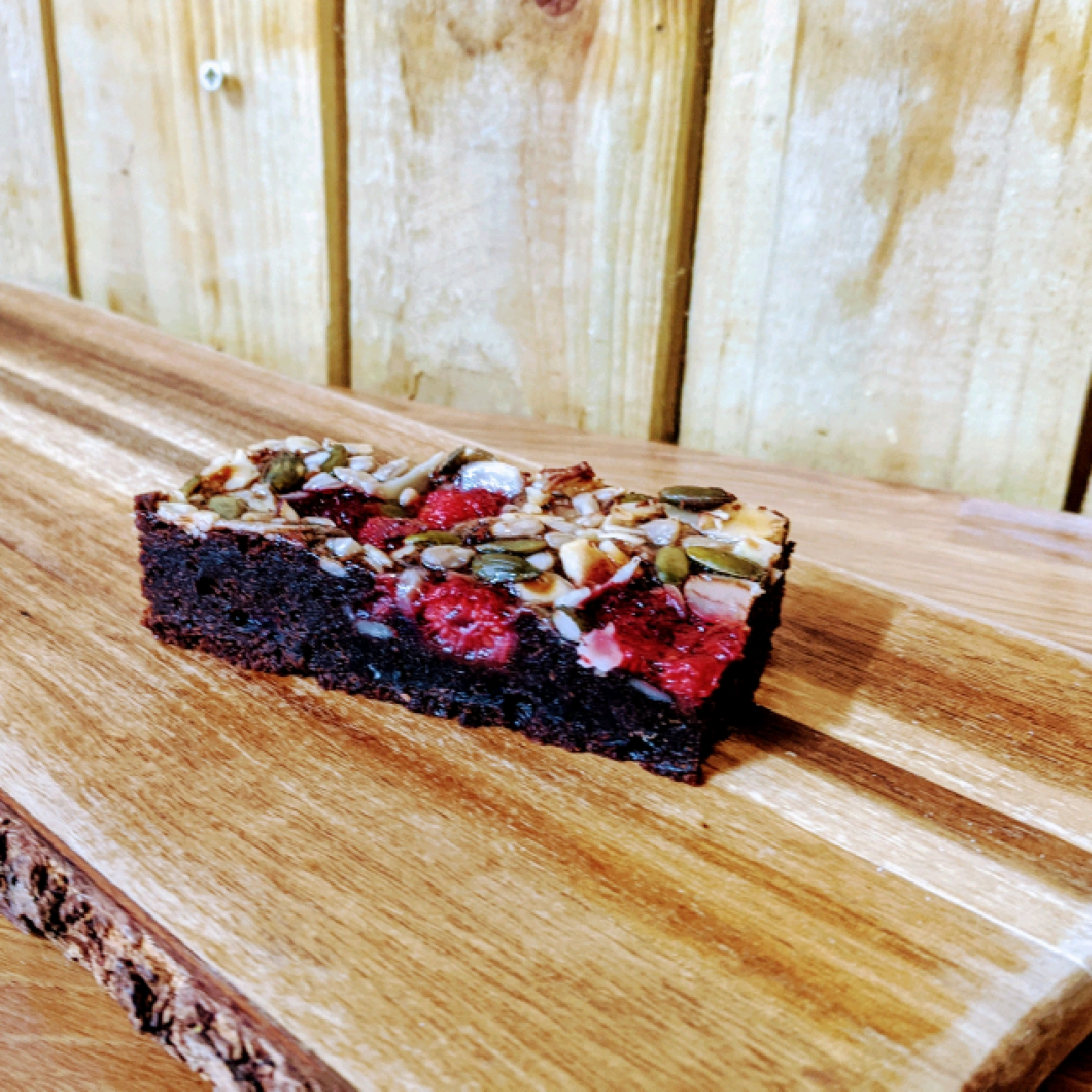 Gluten Free -Rasberry Brownie