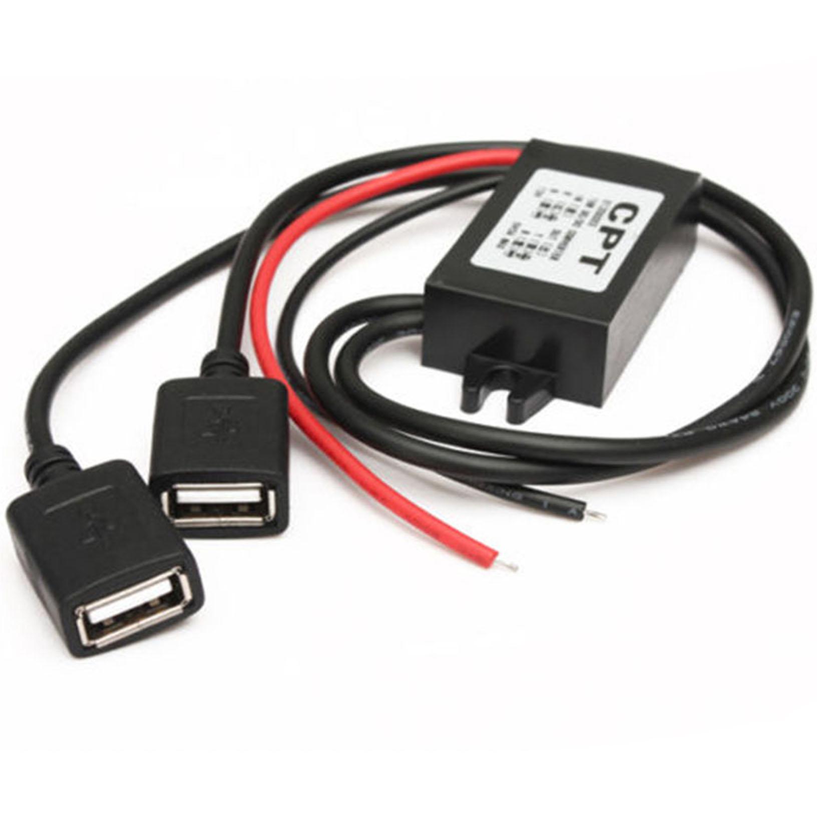 USB jännitelähde/muunnin 12v to 5v