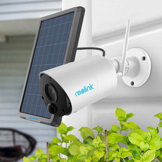 Reolink Argus Eco akkukäyttöinen kamera + aurinkopaneeli