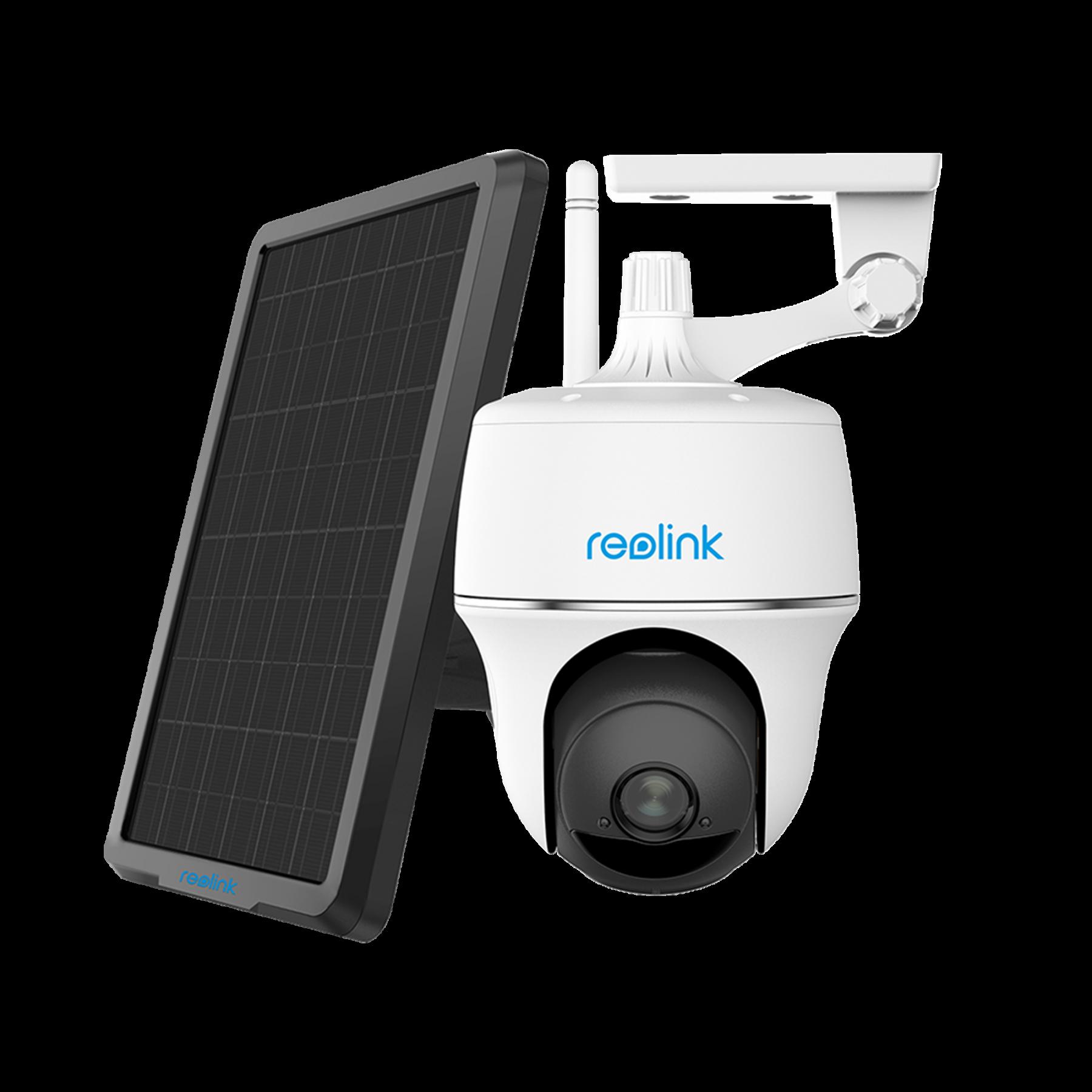 Reolink Argus PT akkukäyttöinen langaton kamera ulkokäyttöön + aurinkopaneeli