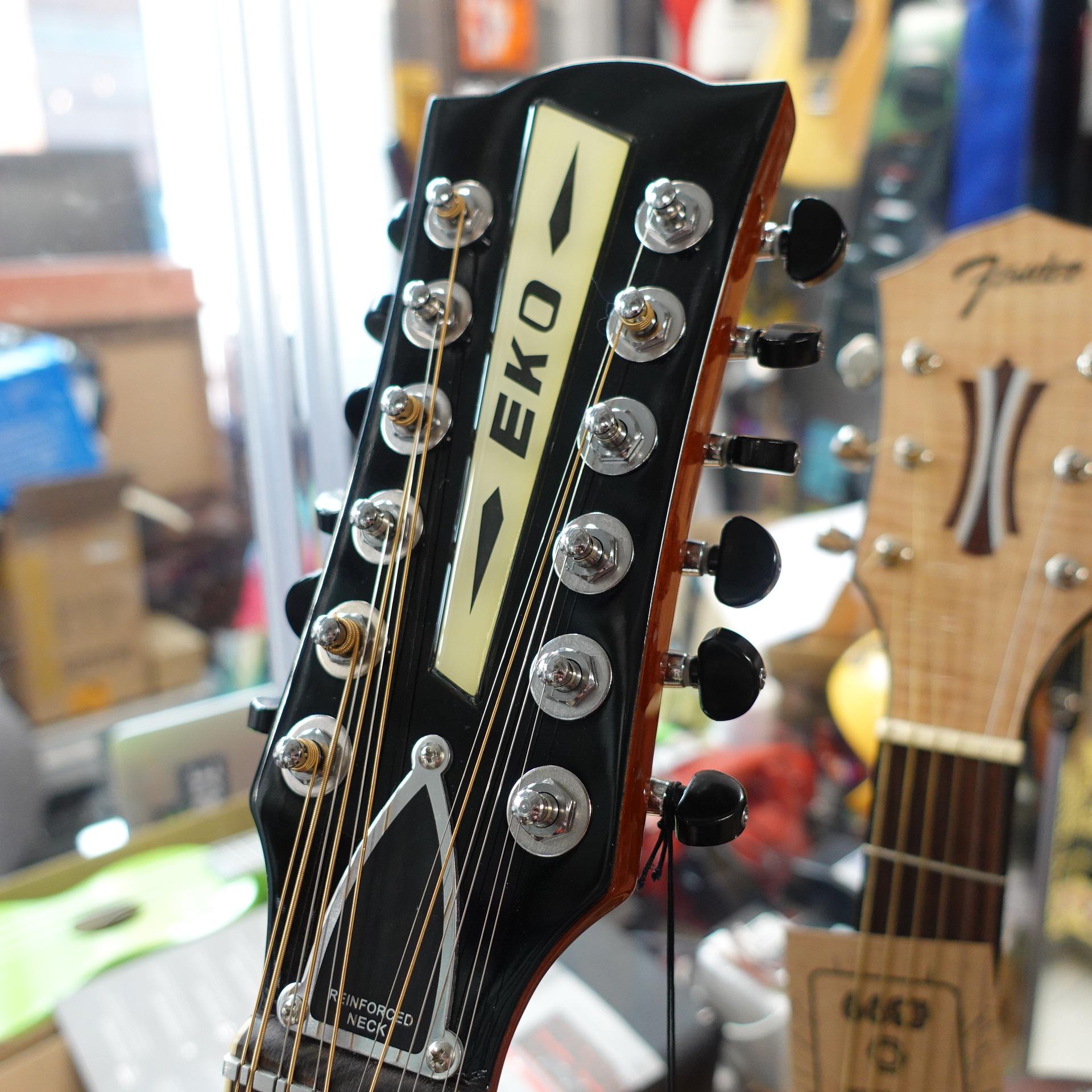 EKO Ranger 12 String Vintage Re-Issue Natural