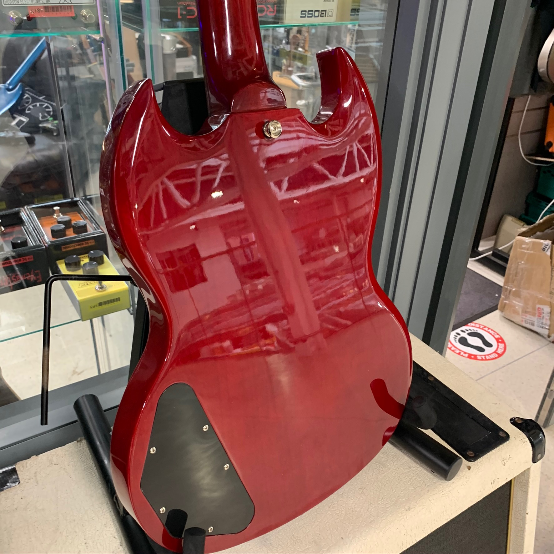 Epiphone SG G400 Cherry Red