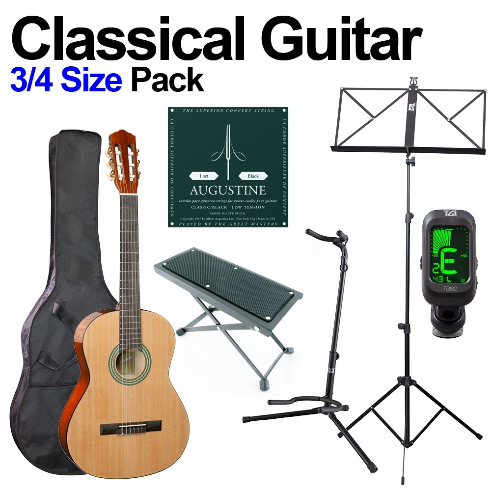 CLASSICAL GUITAR 3/4 BEGINNERS PACK