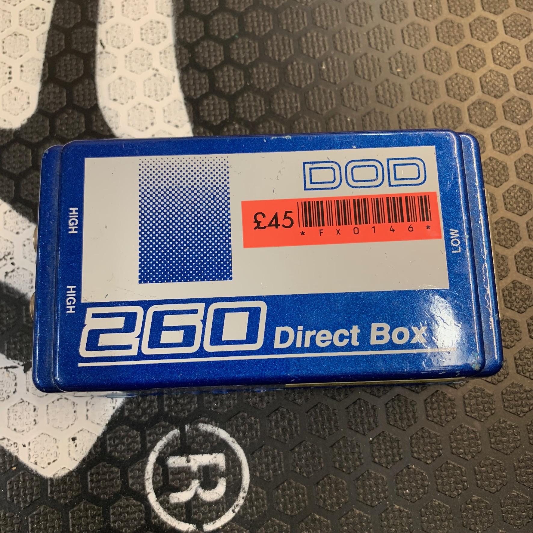DOD DI BOX 260