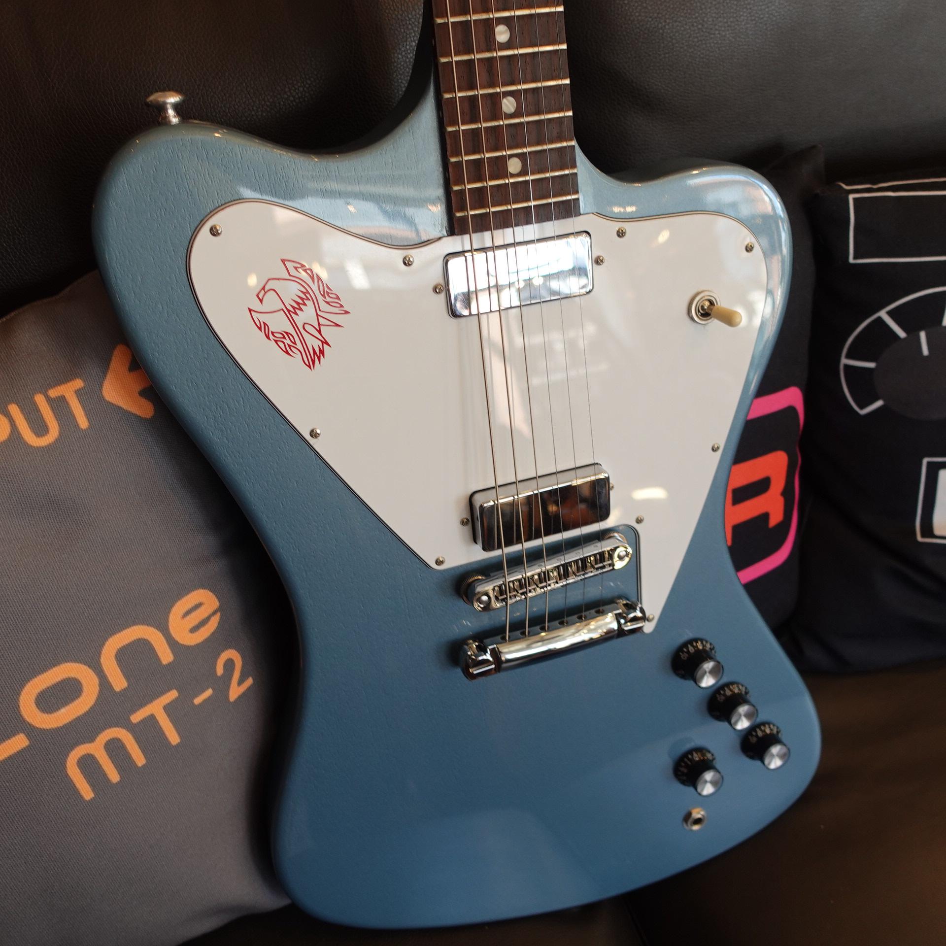Gibson Non Reverse Firebird Pelham Blue 2015