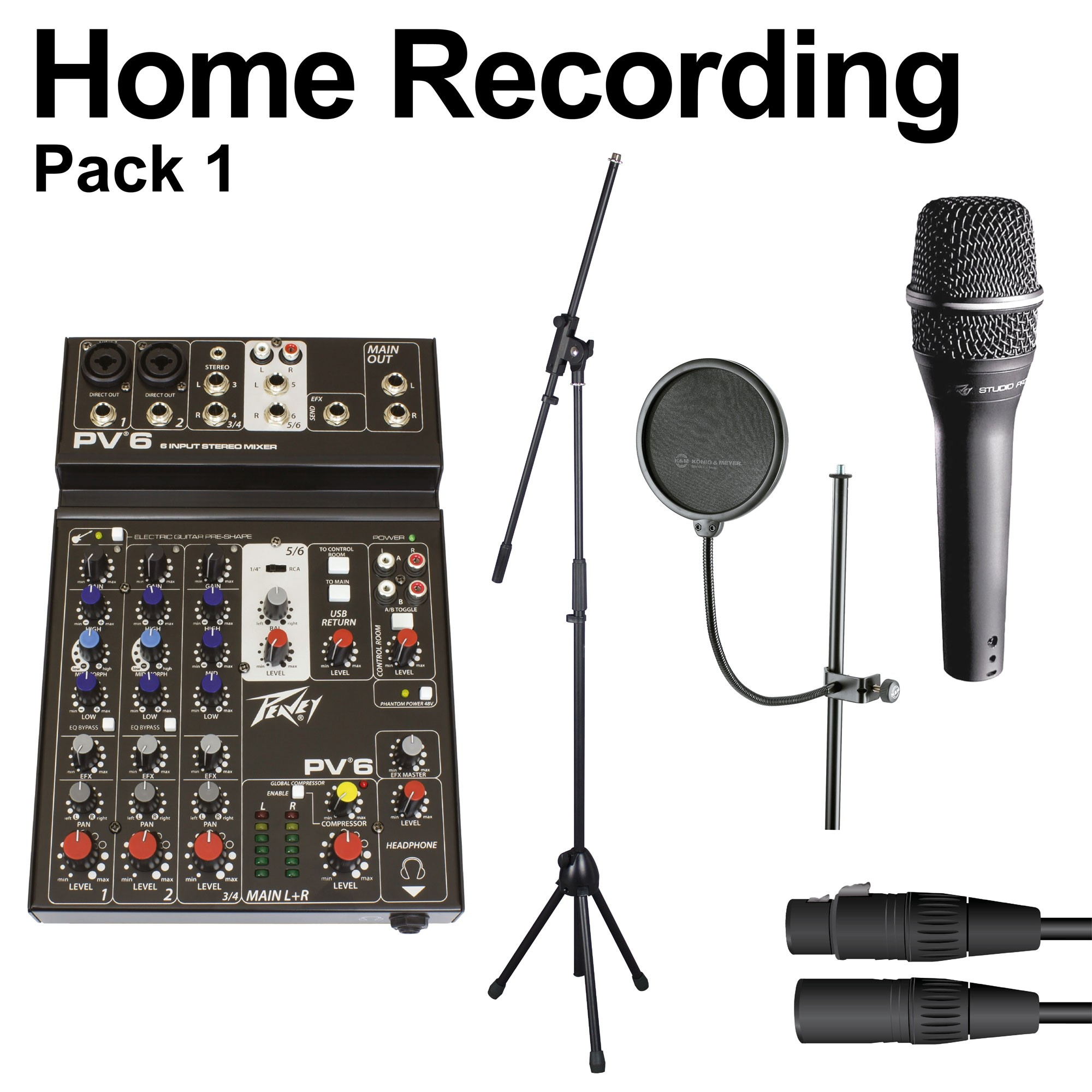 HOME RECORDING PACK