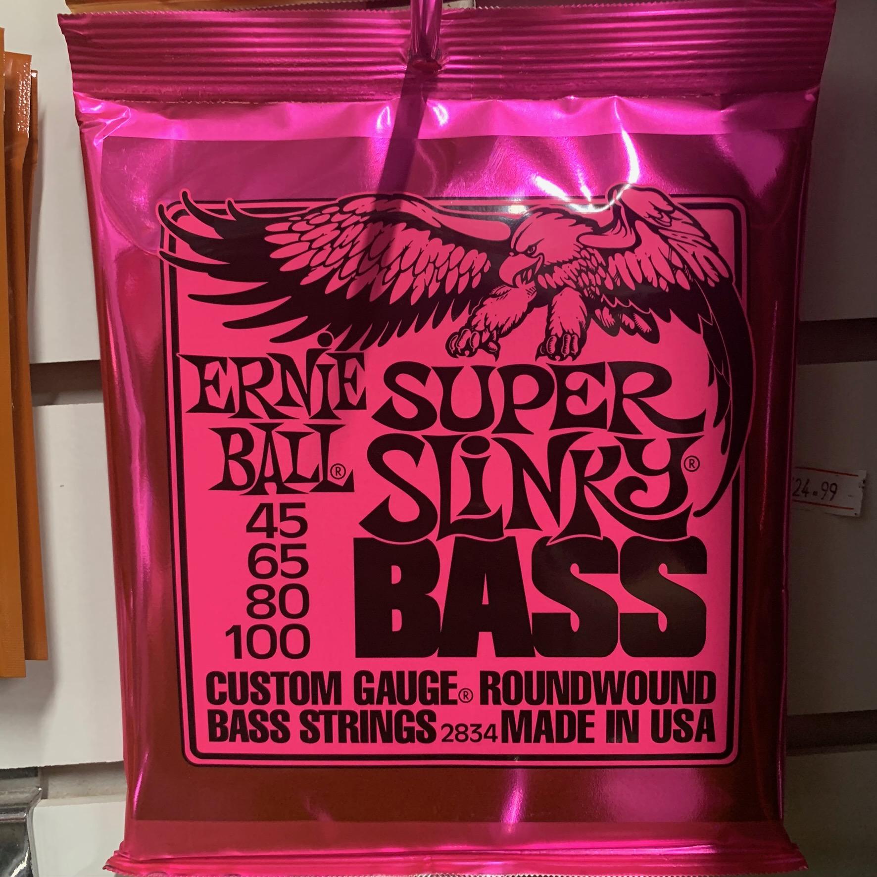 EB SUPER SLINKY BASS 45 - 100
