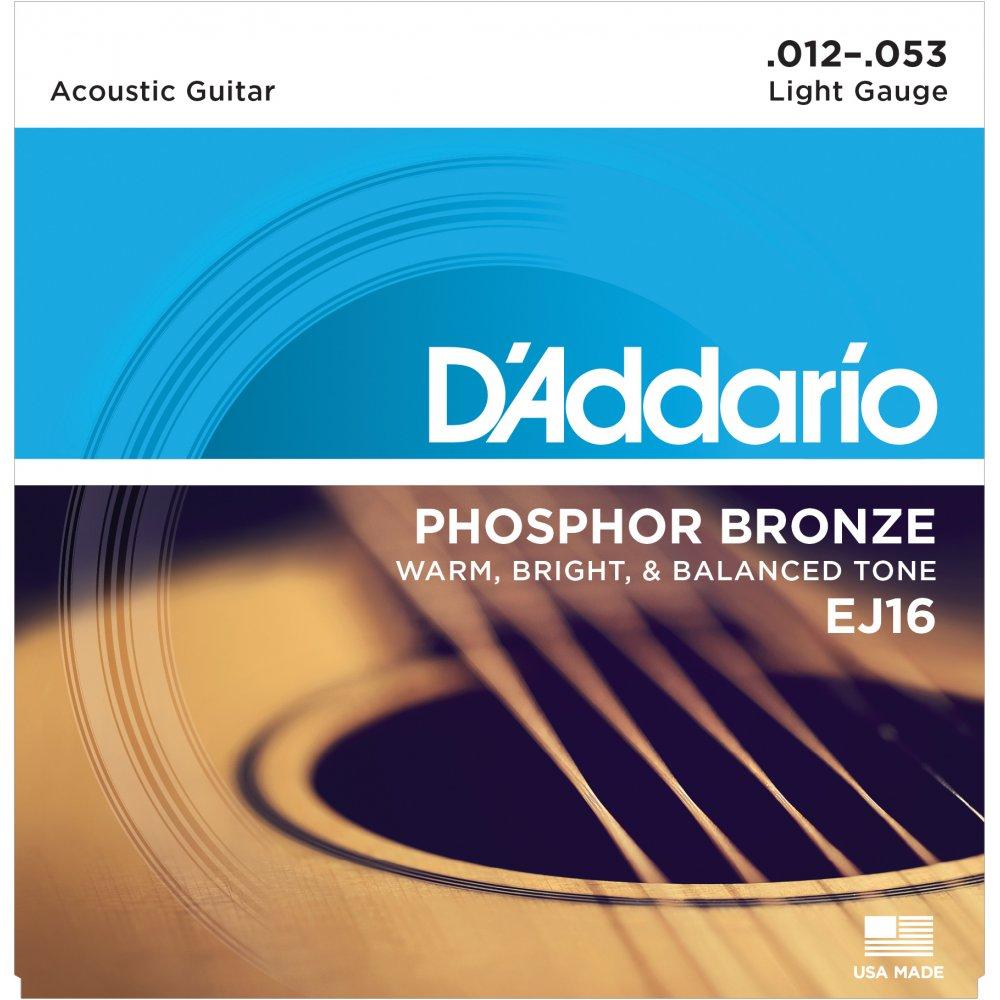 D'Addario Phoshor Bronze Acoustic Strings