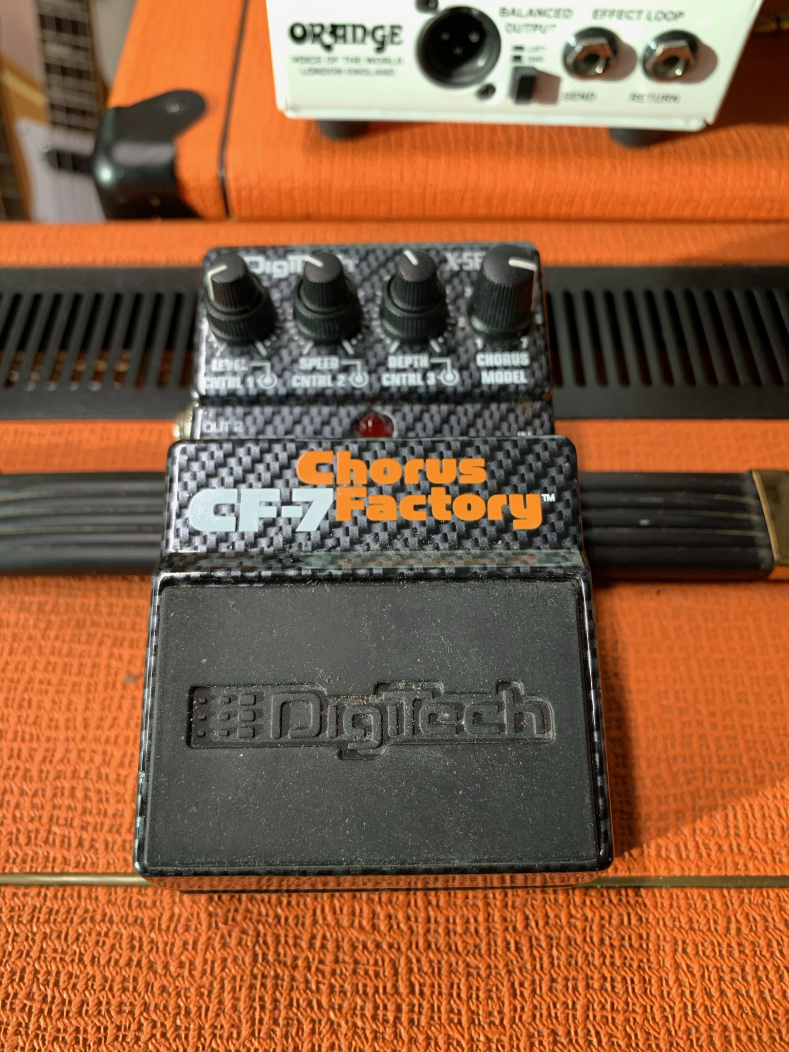 Digitech Bass CF-7 Chorus Factory