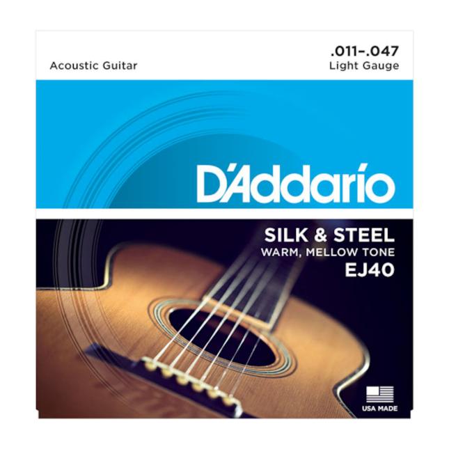 D'Addario Silk and Steel EJ40