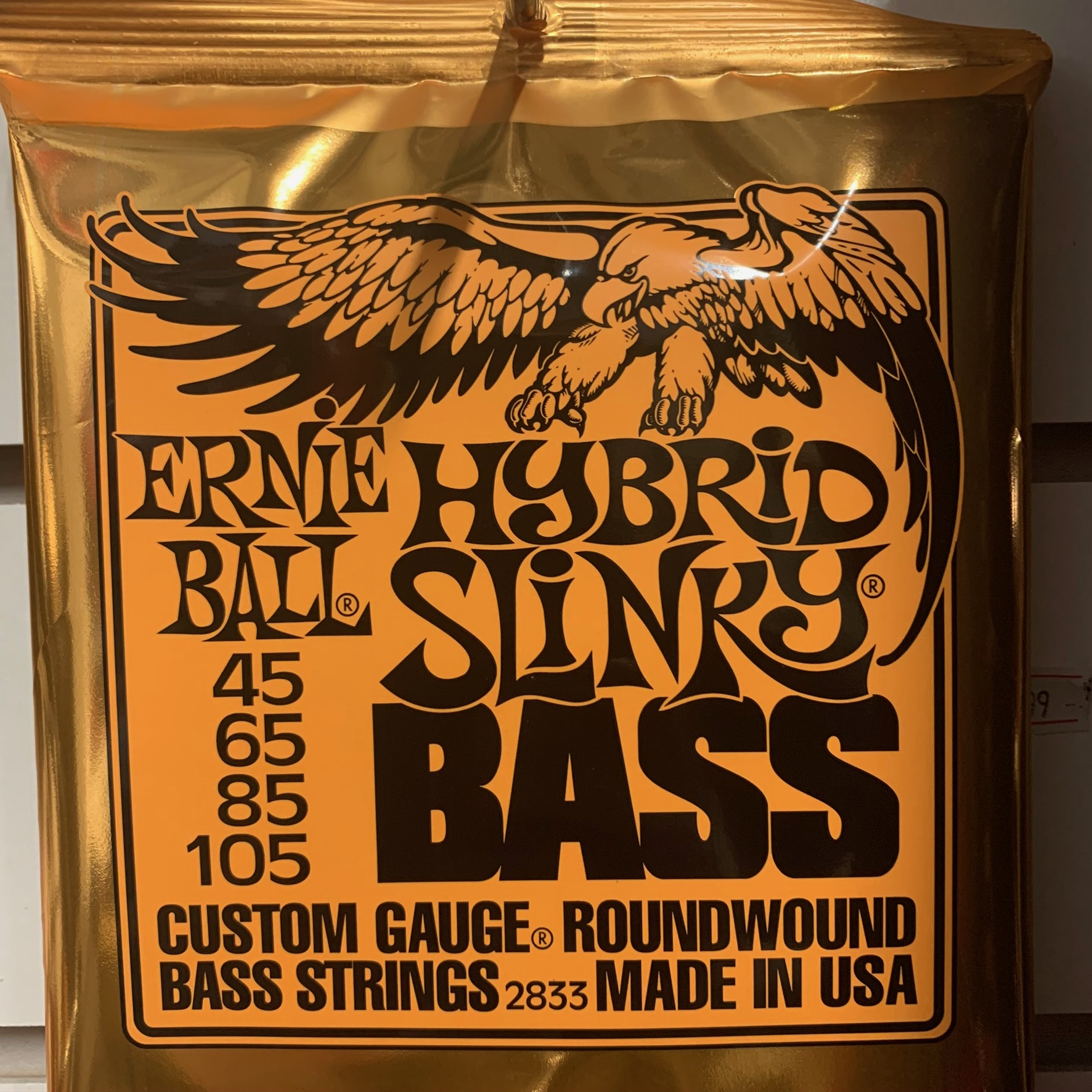 EB HYBRID SLINKY BASS 45 - 105