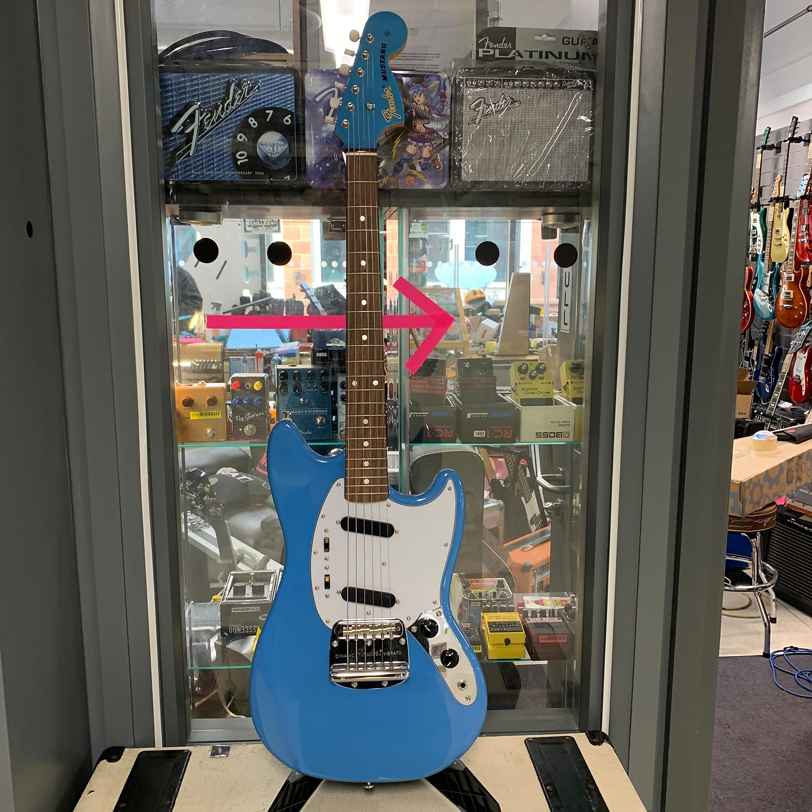 Fender Japan Mustang 70s RI Blue
