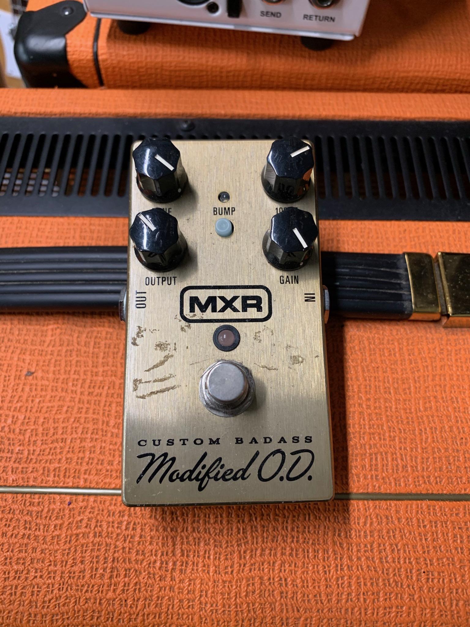 MXR M77 Bass Ass OD Overdrive (Fair NB)
